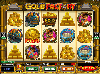 Gold Factory 4